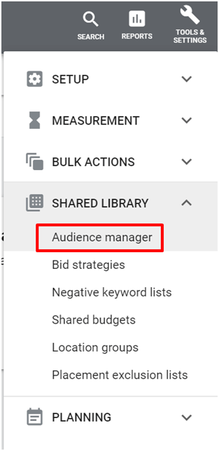 Audience-manager-google-ads