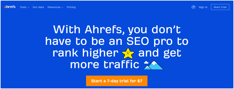Ahrefs-tool-for-better-future-of-blogging