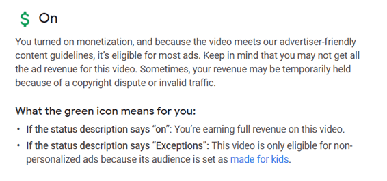 How to check if a YouTube Video is Monetized